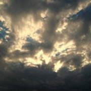 Stormy Clouds Art Print