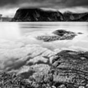 Stormy Lofoten Art Print