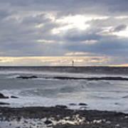 Stormy Seas And Sky Art Print