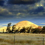 Stormy Skies Over Sunset Cinder Cone Art Print