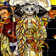 Story Of Mexico 7 Art Print