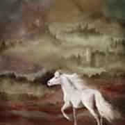 Storybook Stallion Art Print