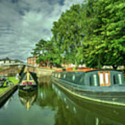 Stourport Narrowboats  Art Print