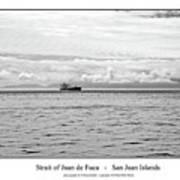 Strait Of Juan De Fuca Art Print