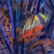 strange Lights Art Print