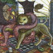 Strange Reverie Detail Art Print