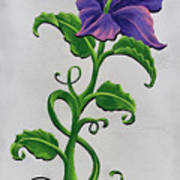 Strangler Hibiscus Art Print