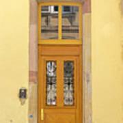 Strasbourg Door 03 Art Print