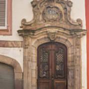 Strasbourg Door 09 Art Print