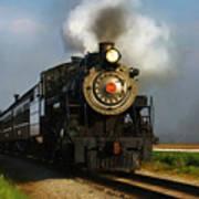 Strasburg Locomotive Art Print