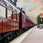 Strasburg Railroad Art Print