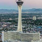 Stratosphere Casino Hotel And Tower Art Print