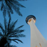 Stratosphere Tower Art Print by Andy Smy