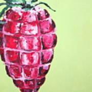 Strawberry Grenade Art Print