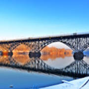Strawberry Mansion Bridge  Art Print