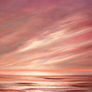 Strawberry Sky Sunset Art Print