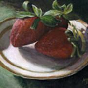 Strawberry Still Life Art Print
