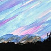 Streaked Sky Art Print