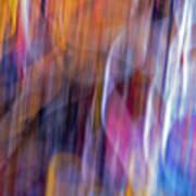 Streaks Of Thread Art Print