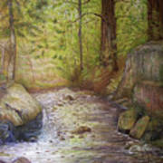 Stream Art Print