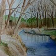 Stream For Chandler Art Print