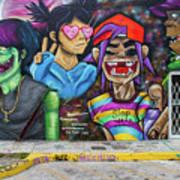 Street Art Graffiti Art Print