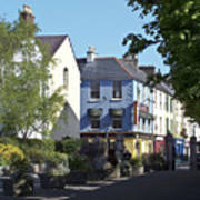 Street Corner In Tralee Ireland Art Print
