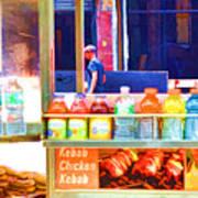 Street Food 3 Art Print