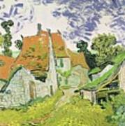 Street In Auvers Sur Oise Art Print