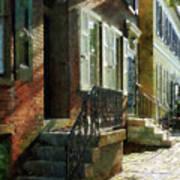 Street In New Castle Delaware Art Print