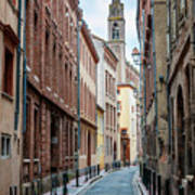 Street In Toulouse Art Print