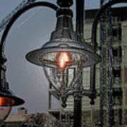 Street Lamp Print by Yavor Kanchev