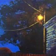 Street Light Nocturne Art Print
