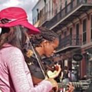 Street Musicians Art Print