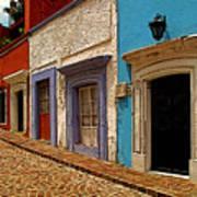 Street Of Color Guanajuato 1 Art Print