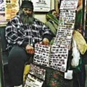 Street Preacher On The A Train Art Print