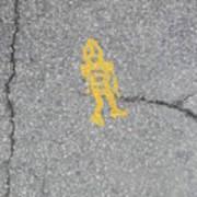 Street Robot Art Print