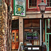Street Signs Portland Maine Art Print