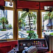 Streetcar Interior New Orleans  Art Print