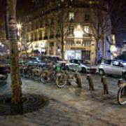 Streets At Saint-michel Art Print