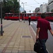 Streets Of Belgrade Art Print