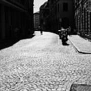 Streets Of Cesena Art Print