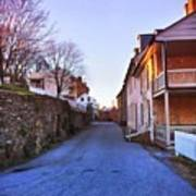 Streets Of Harpers Ferry Art Print