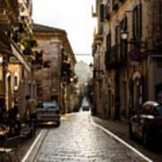Streets Of Italy - Citta Sant Angelo 2 Art Print