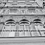 Streets Of London Quote Art Print