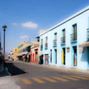 Streets Of Oaxaca Mexico 4 Art Print