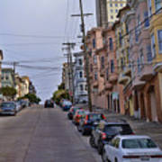 Streets Of San Francisco -2 Art Print