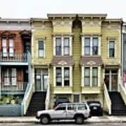 Streets Of San Francisco Art Print