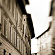Streets Of Siena 2 Art Print