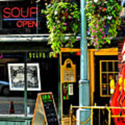 Streetscape 1 Soup Art Print